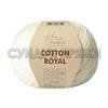 Пряжа Fibranatura Cotton Royal 18-702 (Молочный)