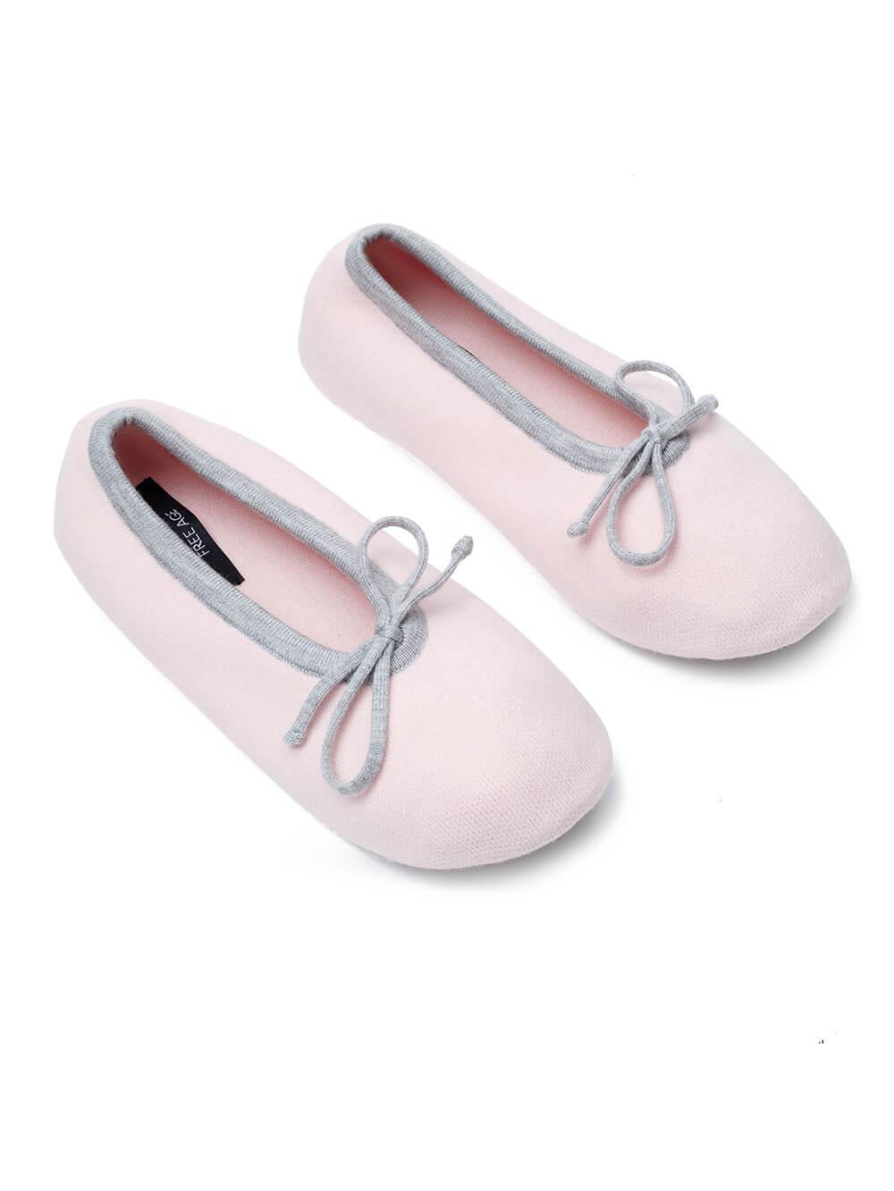 Женские носки светло-розового цвета из вискозы - фото 1