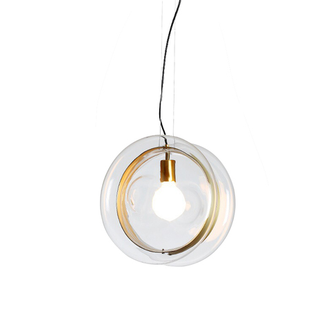 Подвесной светильник копия Orbital by Bomma (прозрачный)