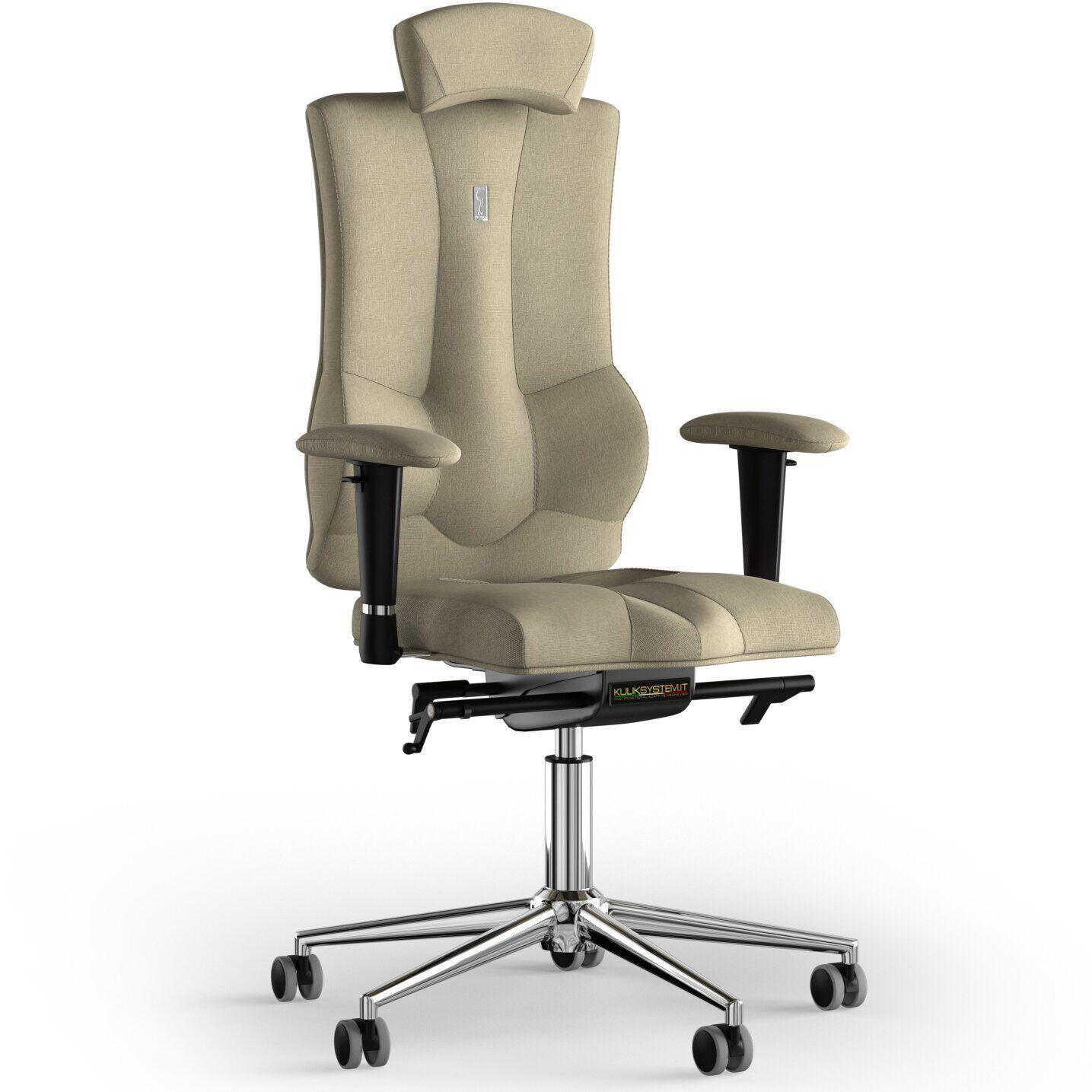 Кресло KULIK SYSTEM ELEGANCE Ткань с подголовником без строчки