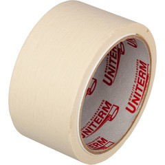 Клейкая лента малярная белая 48 мм х 19 м (бумажная, легкоудаляемая)