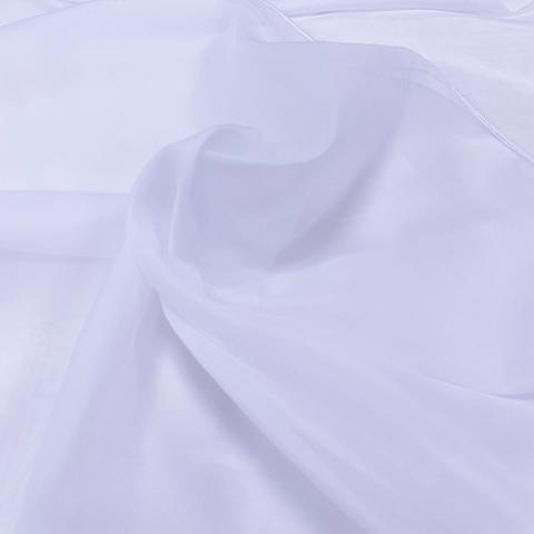 Вуаль с утяжелителем, цвет - холодный белый оптом и на отрез. ширина -330 см. 5019/3
