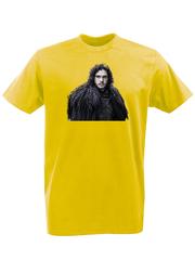 Футболка с принтом Игра престолов (Game of Thrones) желтая 002