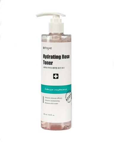 Увлажняющий и восстанавливающий PH кожи тоник Stayve Hydrating Rose Toner 290 мл.