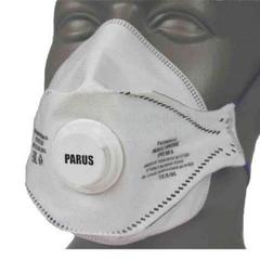 Респиратор PARUS 2 K с клапаном FFP2 ORGANIC до 12 ПДК от сварочных дымов