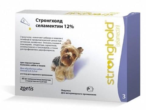 Стронгхолд для собак 2,5-5 кг