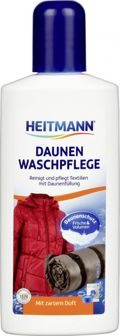 Heitmann Daunen Waschpflege Гель для стирки пуховиков и спальных мешков, 250 мл.