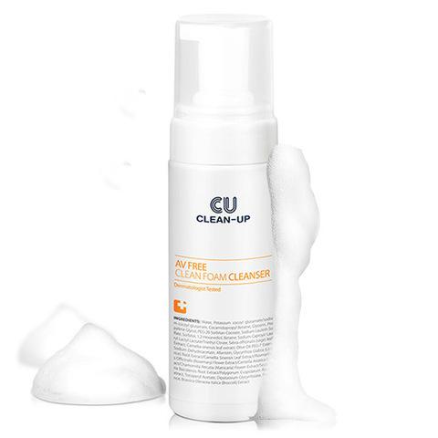 Купить CU SKIN CLEAN-UP AV FREE Clean Foam Cleanser - Пенка очищающая для проблемной и чувствительной кожи pH 5.5