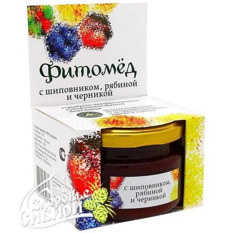 Фитомед с шиповником, рябиной и черникой, Алтай 230 гр