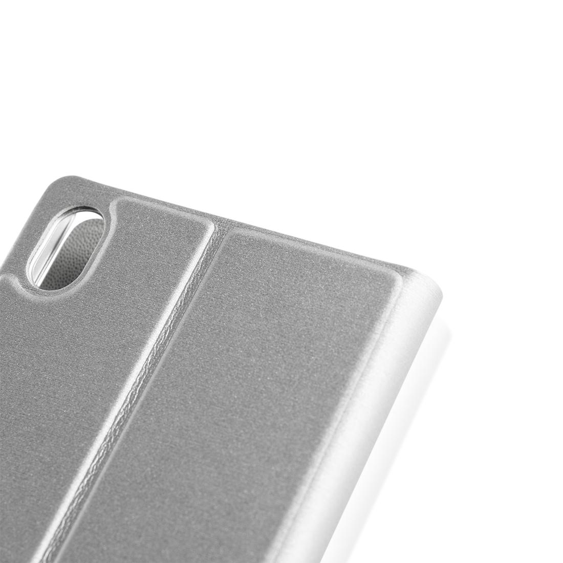 Чехол для Xperia Z3+ серебристый купить в Sony Centre Воронеж