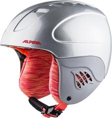 Шлем горнолыжный Alpina CARAT silver-flamingo