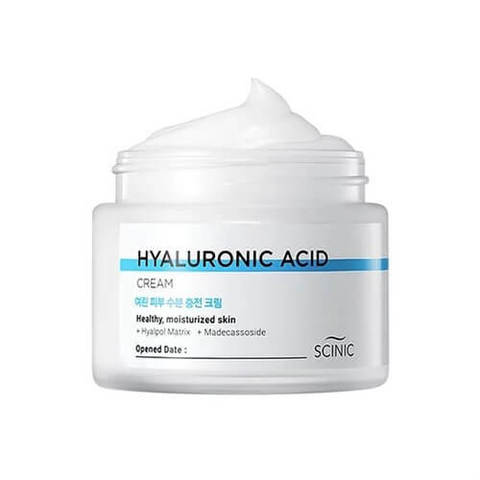 Scinic Hyaluronic Acid Cream крем для лица с гиалуроновой кислотой