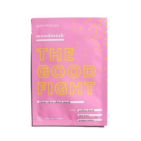 Patchology Антибактериальная успокаивающая маска moodmask  The Good Fight Sheet Mask