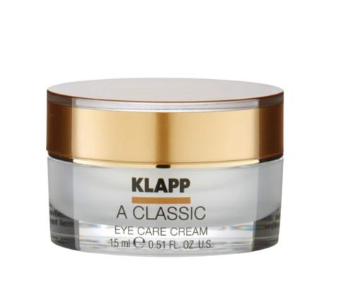 Крем-уход для кожи вокруг глаз KLAPP A CLASSIC 15 мл.
