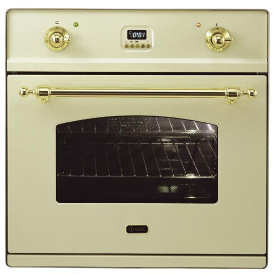 Электрический независимый духовой шкаф ILVE 600 CMP A античный белый