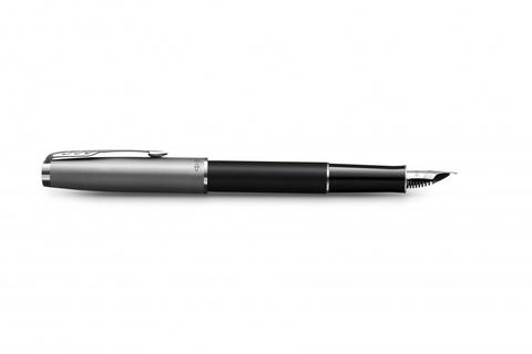 Перьевая ручка Parker Sonnet Entry Point Black Steel, в подарочной упаковке123