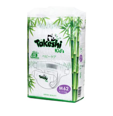 Подгузники Takeshi Kid's,  6-11 кг (M)
