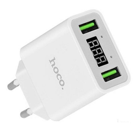 Сетевое Зарядное Устройство Hoco C25A 2 USB