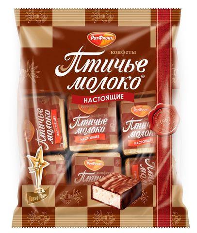 """Конфеты """"Рот Фронт"""" птичье молоко сливочные, 225 г"""
