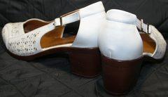 Белые кожаные босоножки Marani Magli 031 405 White.