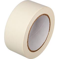 Клейкая лента малярная белая 48 мм х 50 м (бумажная, легкоудаляемая)
