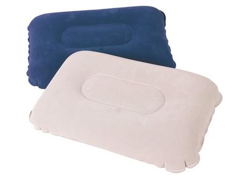 Подушка надувная флокированная 48х30см 67121