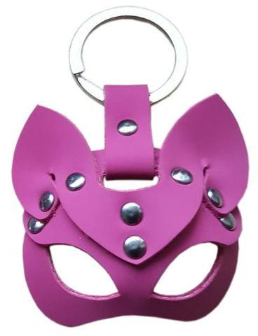 Розовый сувенир-брелок