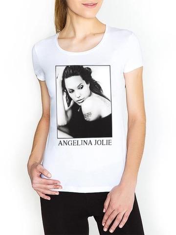 K61-2 футболка женская белая