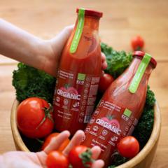 Томатный сок органический (прямой отжим, без соли и сахара) / 500 мл
