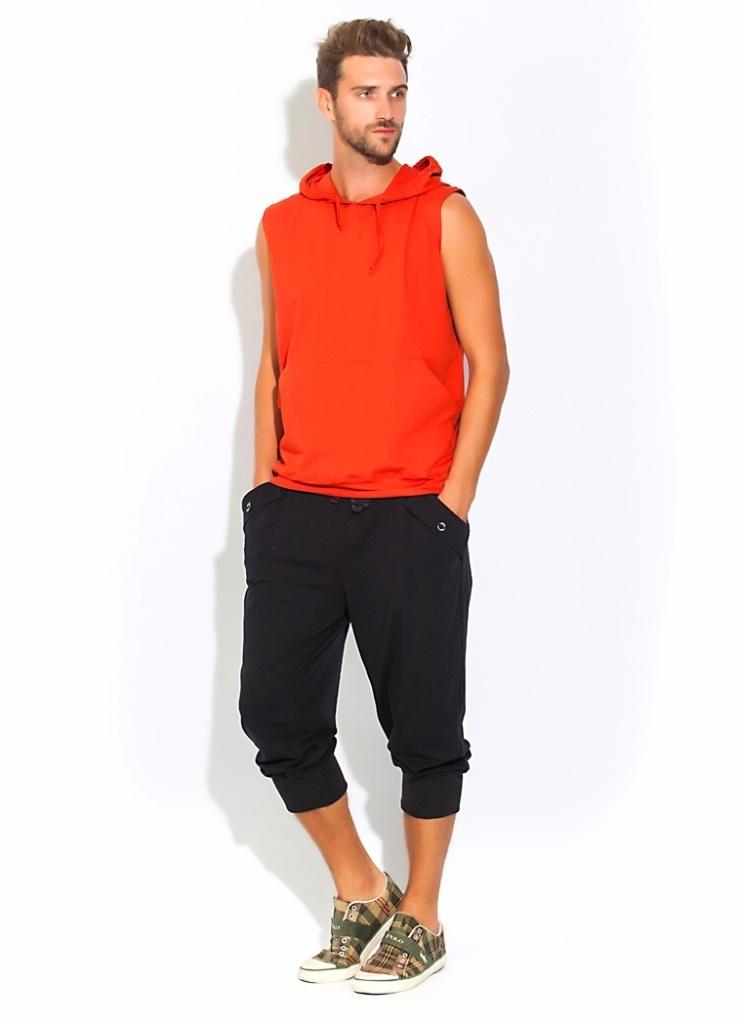 Пижамы мужские. костюмы и брюки Костюм мужской FLEXY оранжевый PECHE MONNAIE   Франция Флекси.jpg