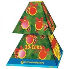 Фонтан пиротехнический Р4350 3Д-Елка (3 эффекта+вспышки)