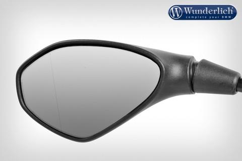 Модернизированное зеркальное стекло »SAFER-VIEW« асферическое - левое - хромированное