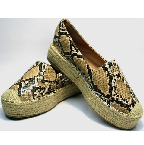 Женские эспадрильи на толстой подошве Lily shoes.