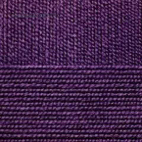 Пряжа Бисерная 698 темно-фиолетовый Пехорка, фото