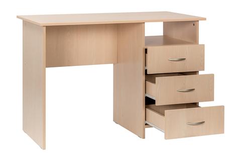 Письменный стол Комфорт 10 СК Моби дуб паллада