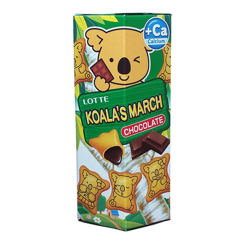 Печенье KOALA'S MARCH Chocolate 37г