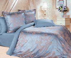 Жаккардовое постельное бельё семейное,Борнео