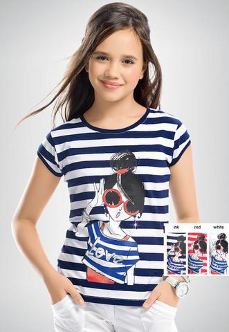 GTR457 футболка для девочек