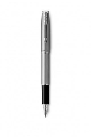 Перьевая ручка Parker Sonnet Entry Point Stainless Steel в подарочной упаковке123