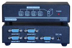 Разветвитель\Сплиттер VGA CA-3504 1х4 активный