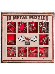 Набор Eureka Красный из 10 металлических головоломок