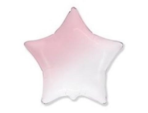 F Звезда Градиент розовый, 18