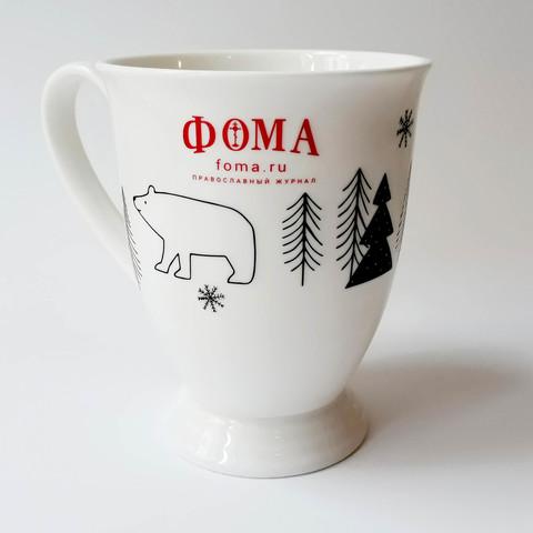 Кружка чайная фарфор