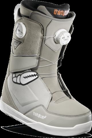 Ботинки для сноуборда Thirtytwo Lashed Double Boa Crab Grab '2 - grey