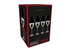 Набор из 4-х бокалов для шампанского Riedel