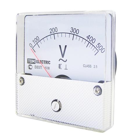 Вольтметр В80П 300В-2,5, (поверенный), TDM