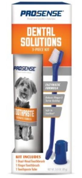 Гигиена 8in1 набор для ухода за зубами для собак Pro-Sense, 3 предмета 2018-07-12_21-59-53.png