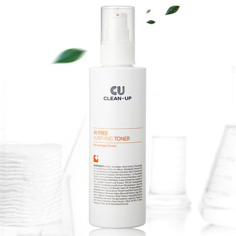 Купить CU SKIN CLEAN-UP AV FREE Purifying Toner - Тонер для проблемной кожи c центеллой, пробиотиками и витамином U