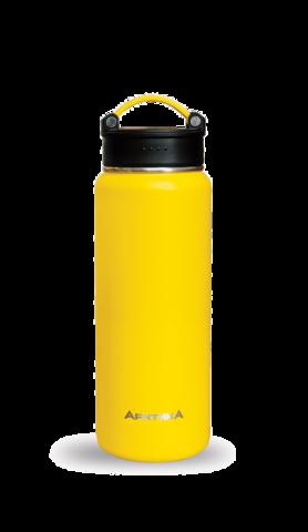 Термос Арктика (0,7 литра) с узким горлом, желтый