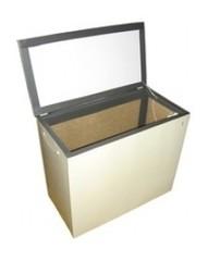 Термошкаф балконный Погребок-2 (160л) с принудительной вентиляцией